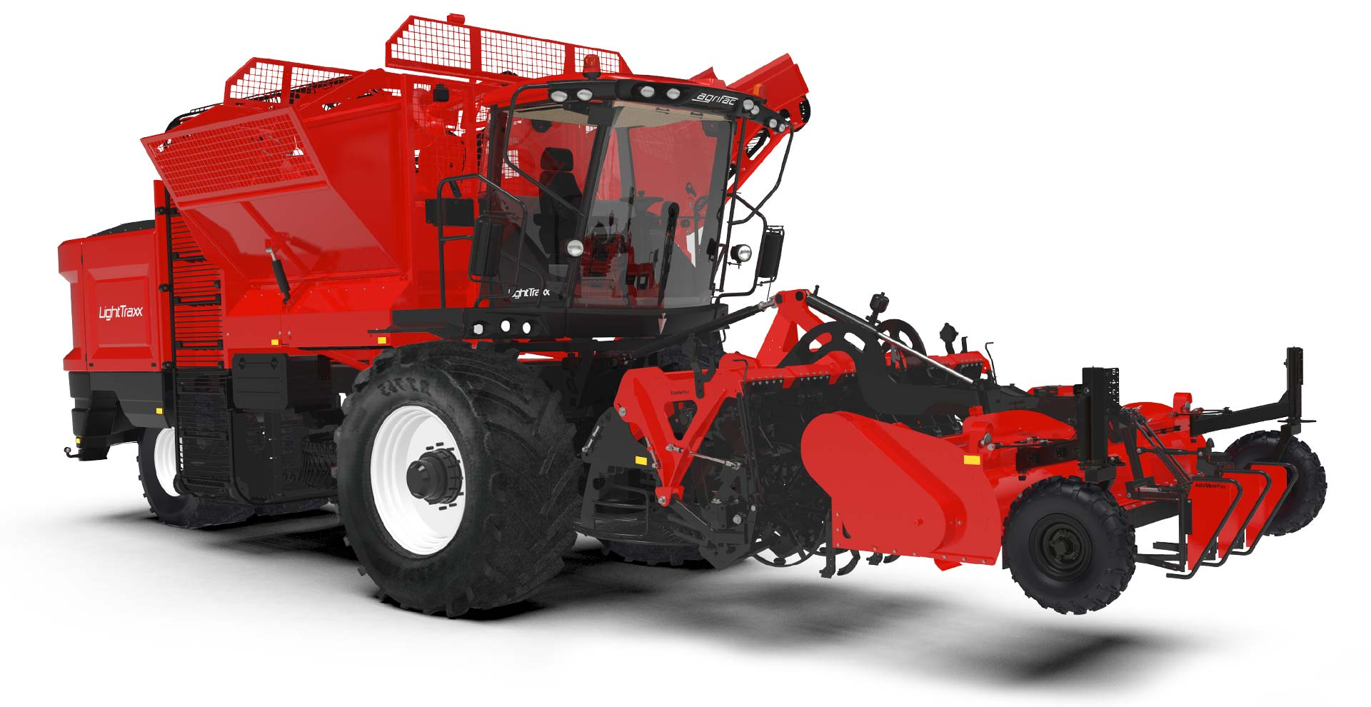 LightTraxx beet harvester