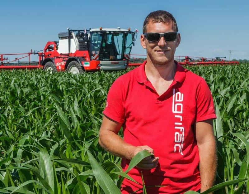 Self-propelled crop sprayers from Agrifac